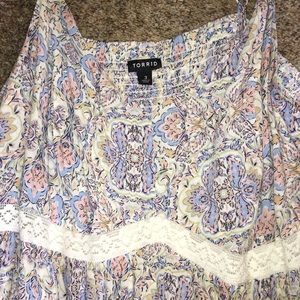 torrid Dresses - Torrid Floral Maxi Dress Size 3 (20-22)